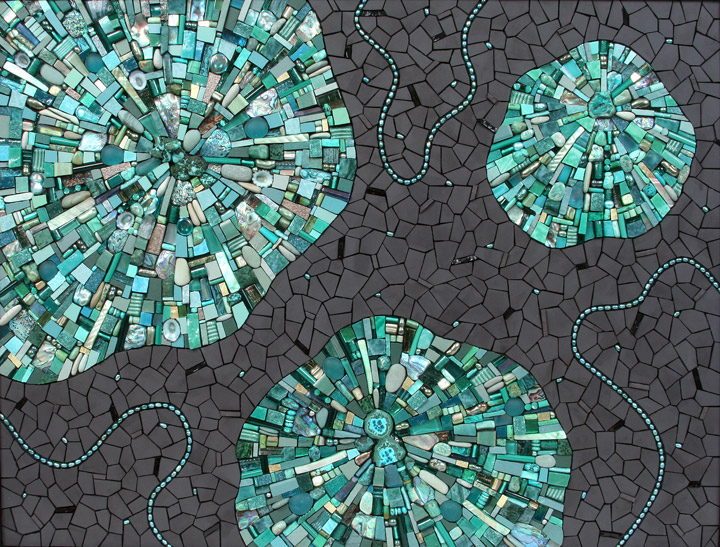Glasmozaiek – klassiek mozaiek met modern materiaal voor eigentijdse ...